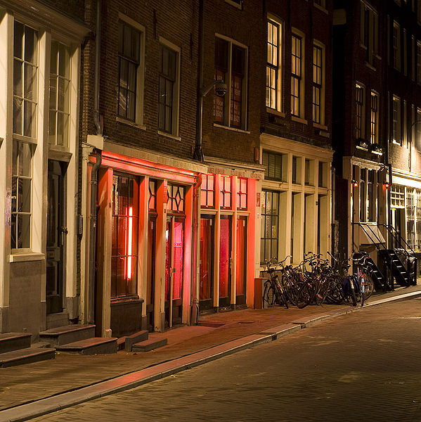 Fotka Red Light District- Amsterdam